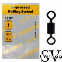 SV Fishing Impressed Rollig Swivel